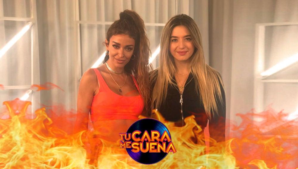 Las primeras imágenes de Mimi Doblas y Eleni Foureira en 'Tu cara me suena'