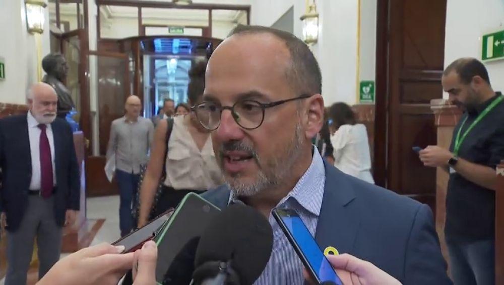 Carles Campuzano, sobre la tesis de Pedro Sánchez
