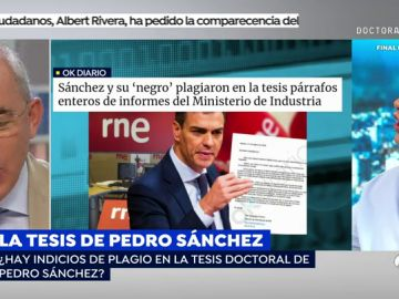 Susanna Griso comunica en directo al director de 'El Mundo' una querella por la noticia sobre el plagio de Pedro Sánchez