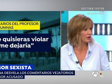 """Susanna Griso arremete contra el profesor acusado de abusos en Oviedo: """"No entiendo como puede haber cenutrios dando clase"""""""