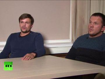 Los rusos acusados por Reino Unido de envenenamiento dicen que solo son turistas