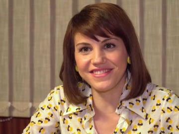 """Angy Fernández: """"Nieves es una chica ingenua que irá descubriendo su triste pasado"""""""