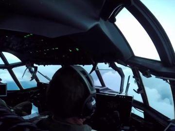 Los pilotos militares son el escuadrón capaz de adentrarse en el Ojo del huracán