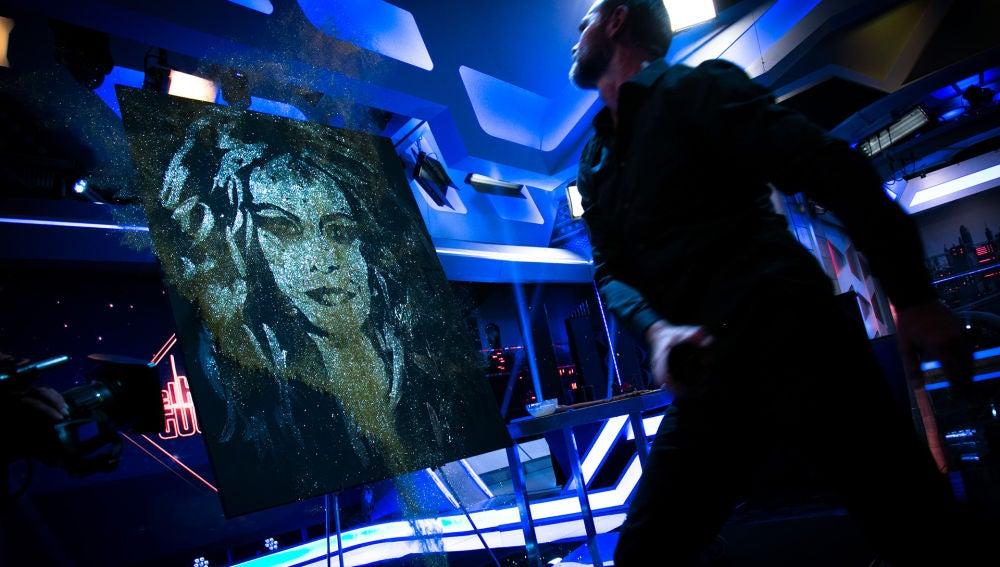 Descubre el arte oculto que deja sin palabras a Paulina Rubio en 'El Hormiguero 3.0'