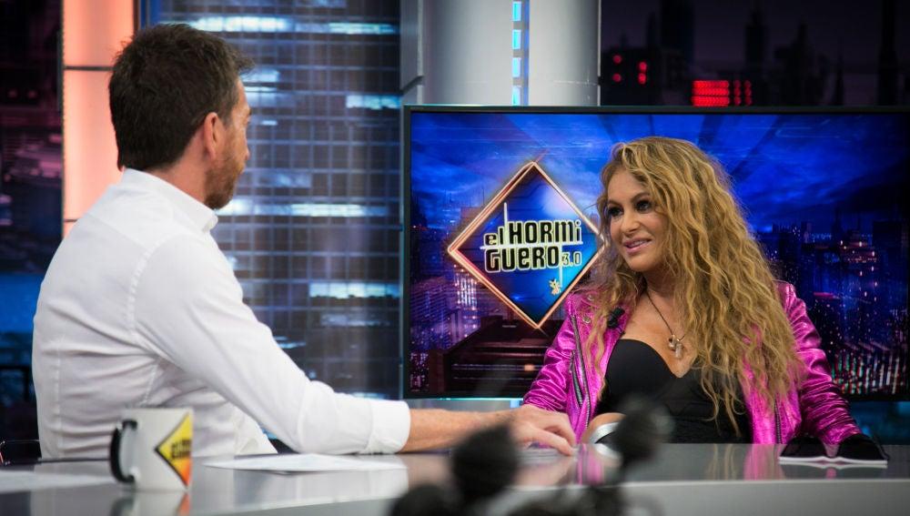 Paulina Rubio desvela en 'El Hormiguero 3.0' sus deseos más suaves y sutiles