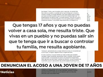 REEMPLAZO Denuncian el acoso a una joven de 17 años por parte de un grupo de chicos internos en un centro de acogida