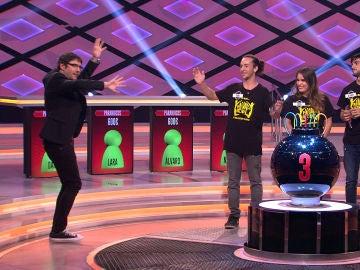 La reacción con más ritmo de un concursante de '¡Boom!' al quedarse en blanco en el escenario