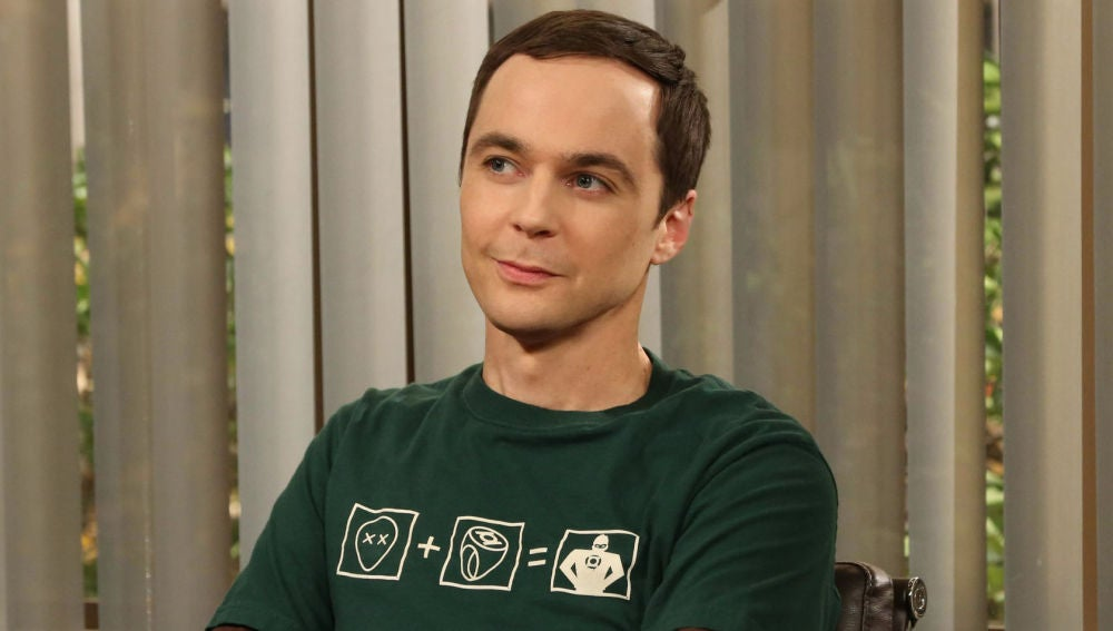 Jim Parsons en 'The Big Bang Theory'