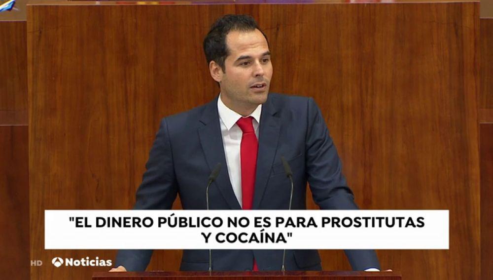 El portavoz de Ciudadanos en la Asamblea de Madrid, Ignacio Aguado