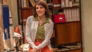 Angy Fernández es Nieves Baeza