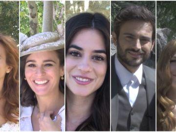 Los especiales mensajes de los invitados a la boda de Isaac y Antolina