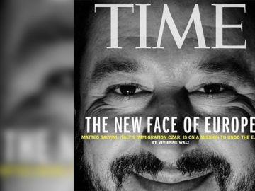 Salvini protagoniza la portada de la revista Time