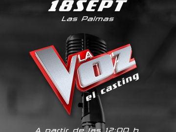 Casting Las Palmas La Voz