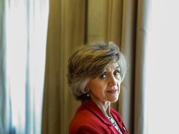 La nueva ministra de Sanidad, Consumo y Bienestar Social, María Luis Carcedo