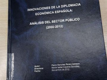 Tesis de Pedro Sánchez