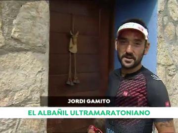 """Jordi Gamito, el ultra maratoniano que trabaja en la obra: """"Necesito trabajar porque necesito comer"""""""
