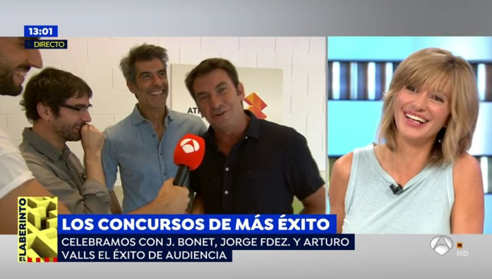 Los presentadores de los concursos de Antena 3 cuentan las novedades de sus programas