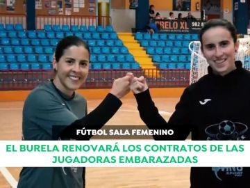 El Burela, equipo de fútbol sala femenino, renovará los contratos de las jugadoras embarazadas