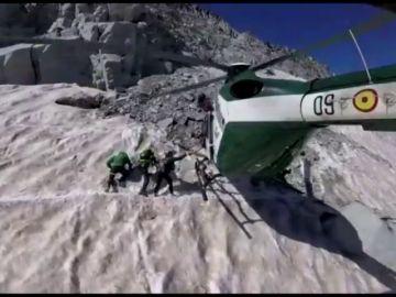 La Guardia Civil realiza dos rescates en menos de 48 horas en el ascenso al Aneto