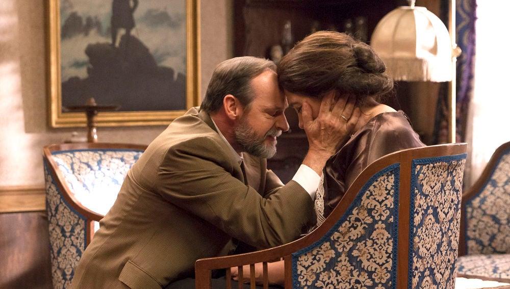 Raimundo se despide de Francisca con un emotivo mensaje de amor