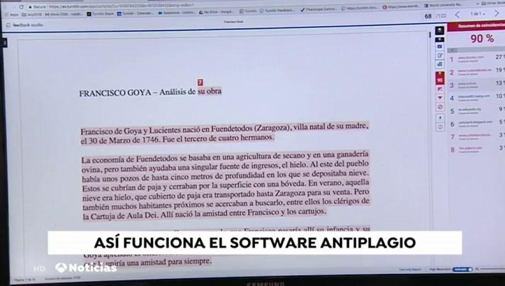 Así funciona 'Turnitin', el software antiplagio más utilizado en el ámbito académico
