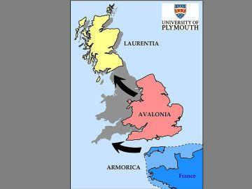 Francia e Inglaterra estaban unidas hace miles de años