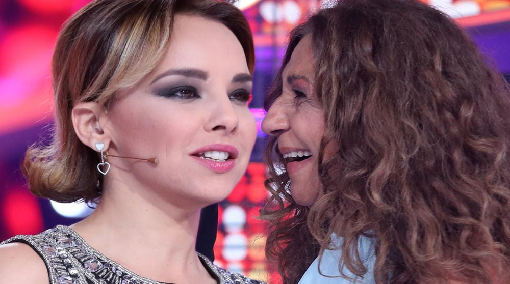 Chenoa y Lolita en 'Tu cara me suena'