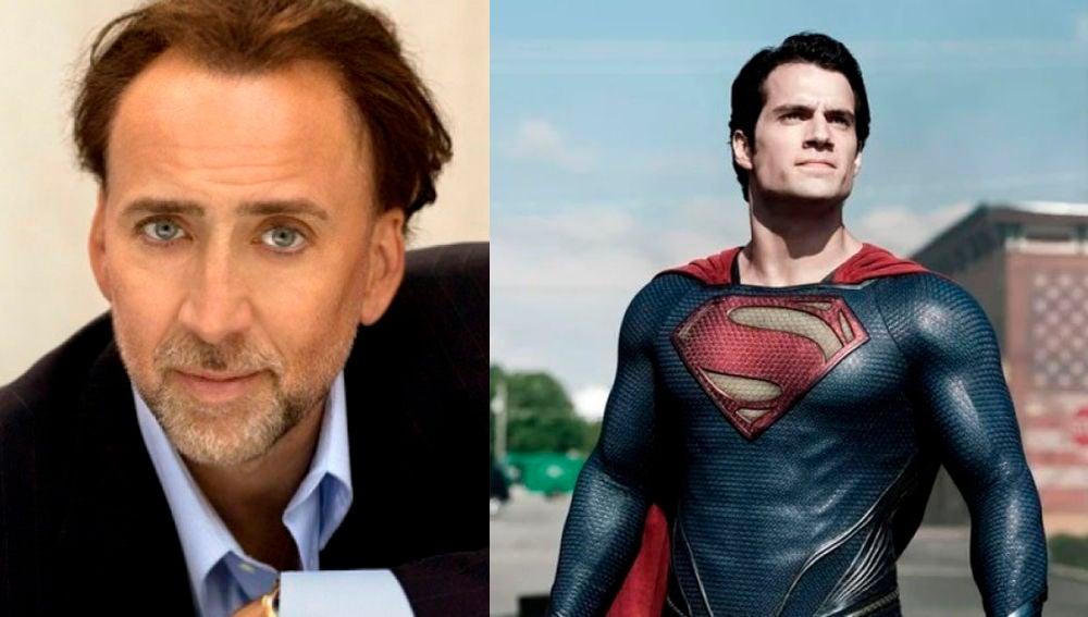 Nicolas Cage y Henry Cavill
