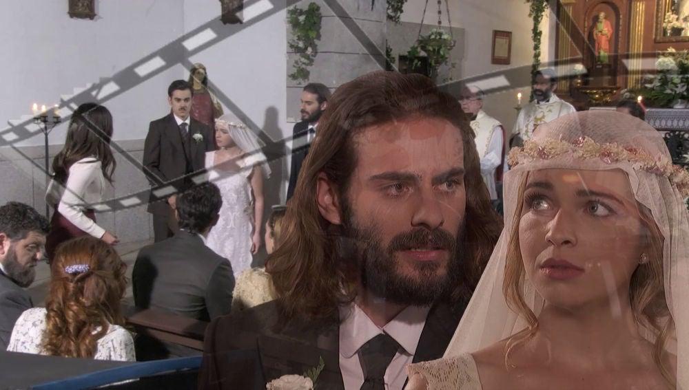 Lo que no se vio en televisión de la tensa boda de Isaac y Antolina
