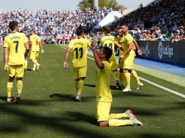 Bacca celebra su gol contra el Leganés