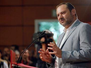 El secretario de Organización del PSOE y ministro de Fomento, Jose Luis Ábalos