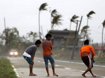 Tifón en Filipinas