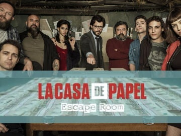 Escape Room de 'La casa de papel'