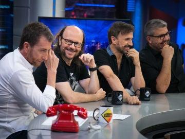 Florentino Fernández, José Mota y Santiago Segura desvelan en 'El Hormiguero 3.0' sus exigencias trabajando