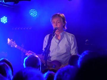 Paul McCartney vuelve a ser número uno en ventas en Estados Unidos.