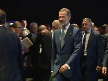 REEMPLAZO | El Rey Felipe VI inaugura la feria Gastech en Cataluña sin presencia del Govern, su sexta visita a la CCAA desde el 1-O