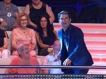 Las increíbles sorpresas del público de '¡Ahora Caigo!' que dejan a Arturo Valls sin   palabras