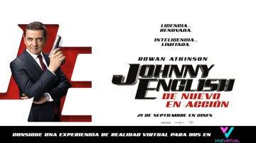 Concurso 'Johnny English: De nuevo en acción'