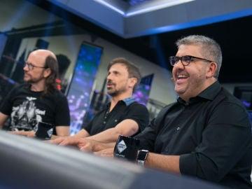 Trancas y Petancas organizan una ronda de chistes con Santiago Segura, José Mota y Florentino Fernández