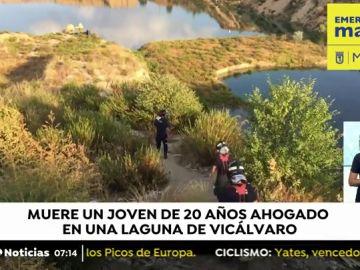 Hallan el cuerpo sin vida del joven de 21 años desaparecido cuando se bañaba en una laguna de Vicálvaro