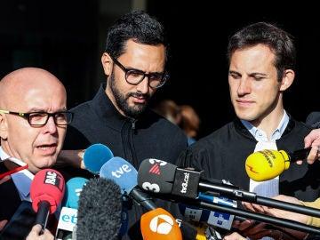 Valtònyc ante los medios de comunicación