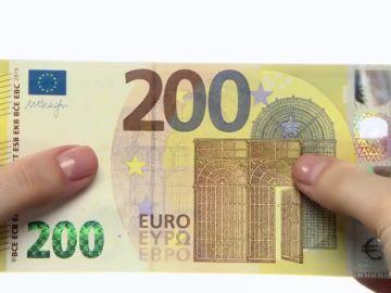 Así serán los nuevos billetes 200 euros