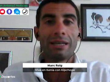 """Marc Roig vive en Kenia con Kipchoge: """"Un atleta keniano es capaz de descansar todo el día"""""""