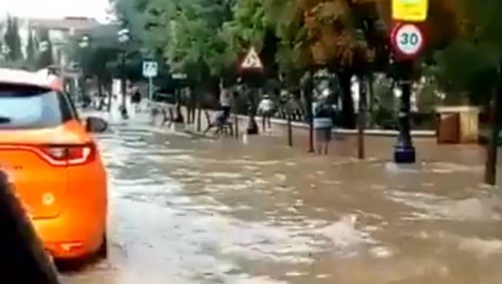 Inundaciones en Guadix