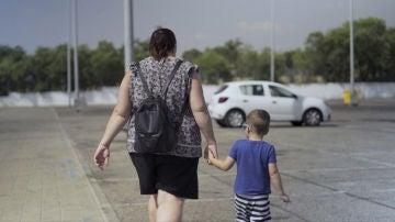 Ana es madre soltera, está embarazada de su segundo hijo y en paro