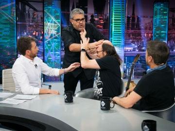 Revive la entrevista completa de Florentino Fernández, José Mota y Santiago Segura con Pablo Motos en 'El Hormiguero 3.0'