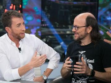 El divertido rifirrafe de Santiago Segura y Petancas en 'El Hormiguero 3.0'