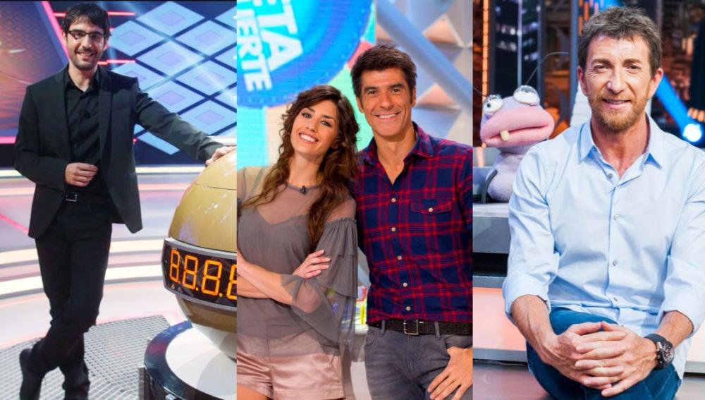 El entretenimiento en Antena 3, líder de audiencia