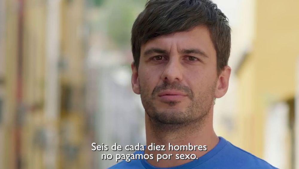 """""""Seis de cada diez hombres no pagamos por sexo"""", la campaña contra la prostitución, la trata y el tráfico de personas"""