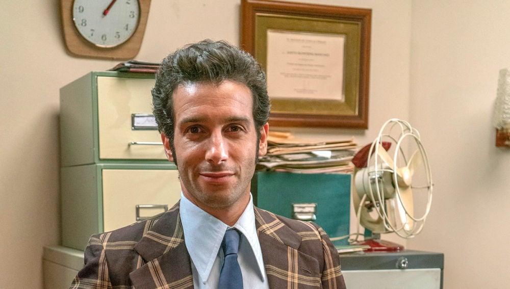Jonás Berami es Ignacio Solano en la temporada 7 de 'Amar es para siempre'